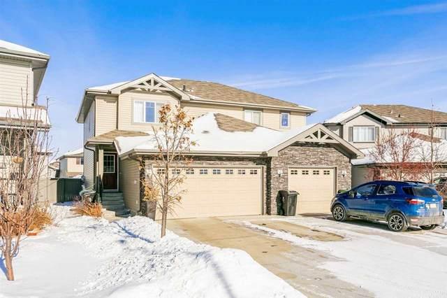 158 Cranston Place, Fort Saskatchewan, AB T8L 0K9 (#E4229113) :: RE/MAX River City