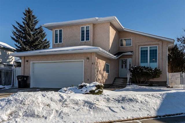 41 Deer Park Way, Spruce Grove, AB T7X 3K4 (#E4229327) :: RE/MAX River City