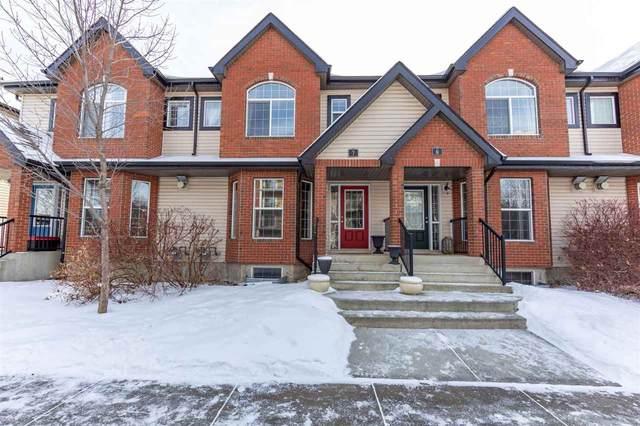 7 5281 Terwillegar Boulevard, Edmonton, AB T6R 0C5 (#E4229393) :: Initia Real Estate