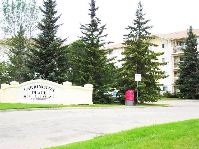 412 18020 95 Avenue, Edmonton, AB T5T 6B2 (#E4229545) :: RE/MAX River City