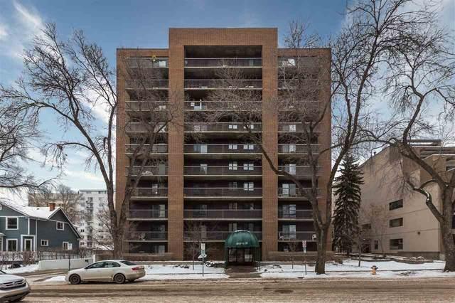 303 9929 113 Street, Edmonton, AB T5K 2N9 (#E4229957) :: RE/MAX River City