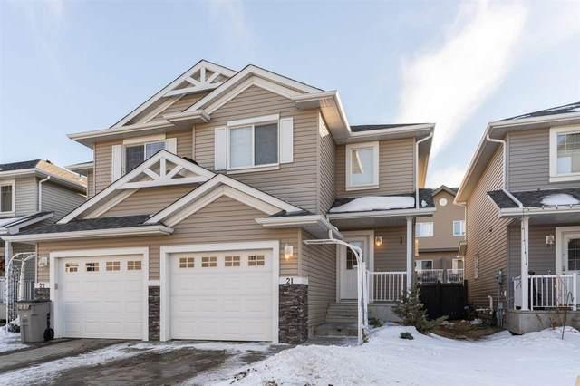 21 5101 Soleil Boulevard, Beaumont, AB T4X 0E3 (#E4230155) :: Initia Real Estate