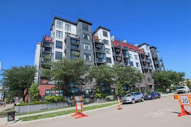 205 10518 113 Street, Edmonton, AB T5M 3H5 (#E4230260) :: RE/MAX River City