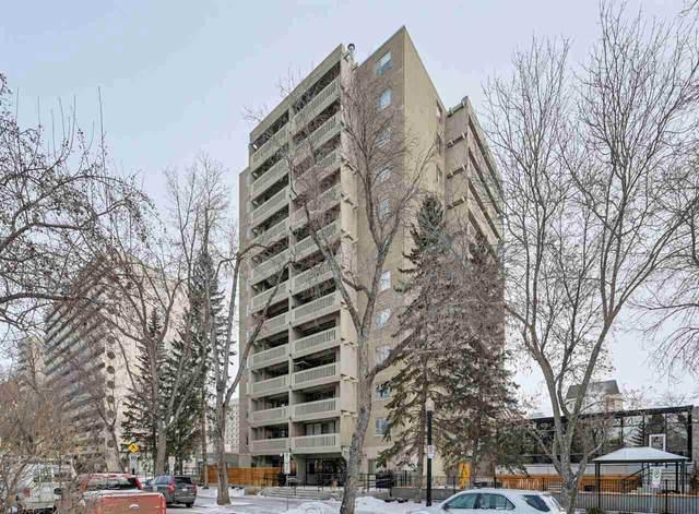 906 9809 110 Street, Edmonton, AB T5K 2J9 (#E4230298) :: RE/MAX River City