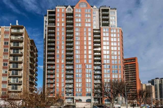 307 9020 Jasper Avenue, Edmonton, AB T5H 3S8 (#E4230319) :: Initia Real Estate