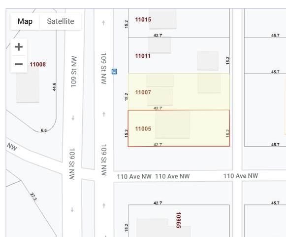 11005 109 ST NW, Edmonton, AB T5H 3C3 (#E4230500) :: Initia Real Estate