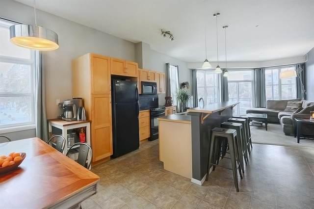 225 10531 117 Street, Edmonton, AB T5H 0A8 (#E4230546) :: RE/MAX River City