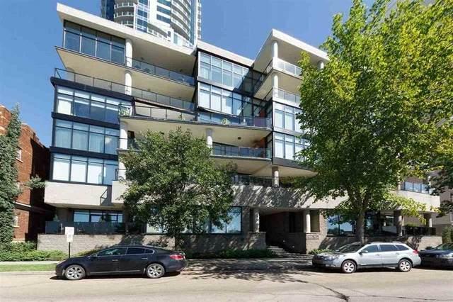 102 11930 100 Avenue, Edmonton, AB T5K 0K5 (#E4230917) :: RE/MAX River City