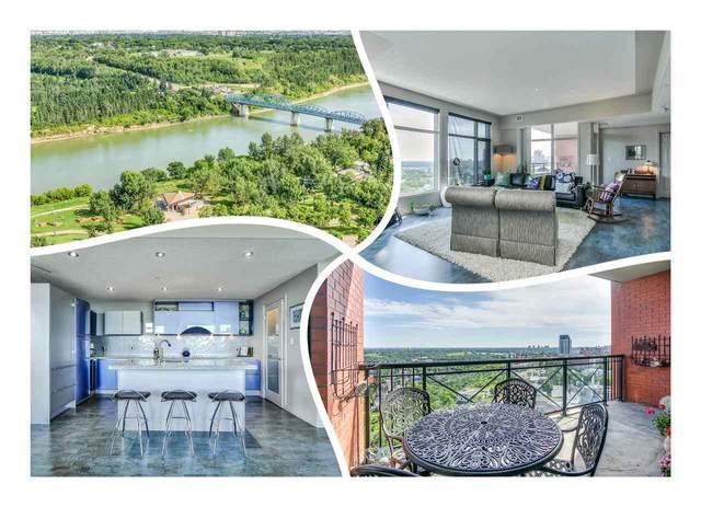 1604 9020 Jasper Avenue, Edmonton, AB T5H 3S8 (#E4231065) :: Initia Real Estate