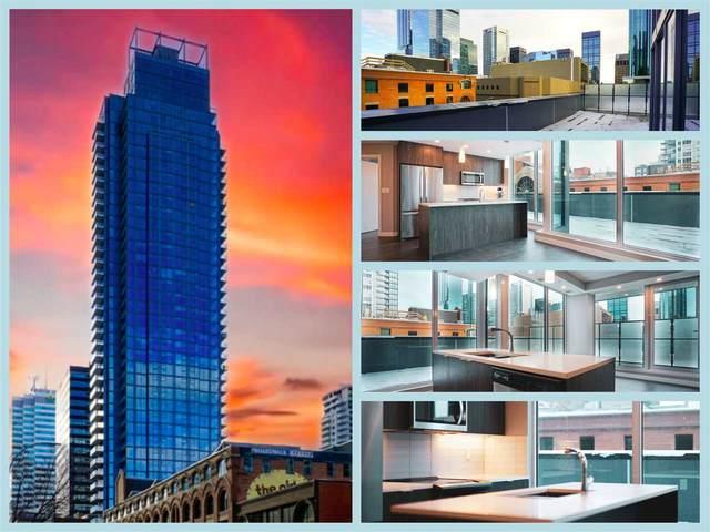 403 10180 103 Street, Edmonton, AB T5J 0L1 (#E4231108) :: Initia Real Estate