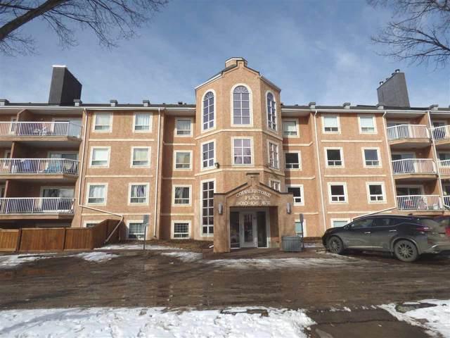 408 9010 106 Avenue, Edmonton, AB T5H 4K3 (#E4231323) :: Initia Real Estate