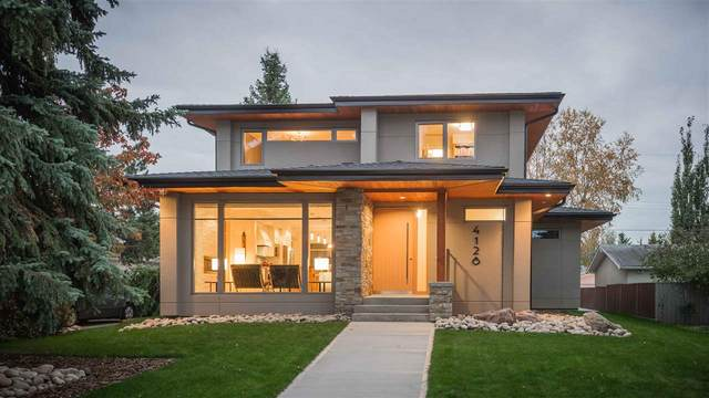 4128 122 Street, Edmonton, AB T6J 1Z2 (#E4231335) :: The Foundry Real Estate Company