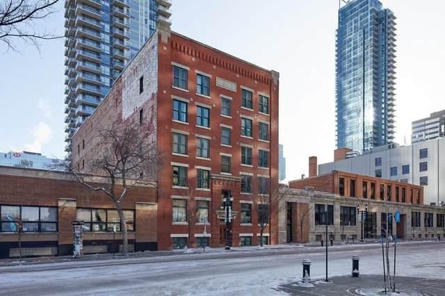 002 10249 104 Street, Edmonton, AB T5J 1B1 (#E4231351) :: Initia Real Estate