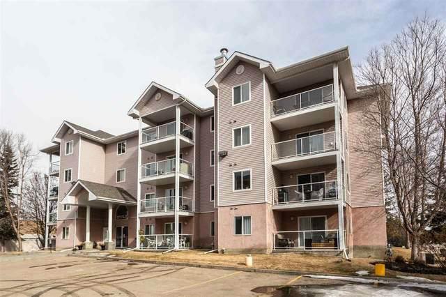 206 5102 49 Avenue, Leduc, AB T9E 8H1 (#E4232077) :: Initia Real Estate