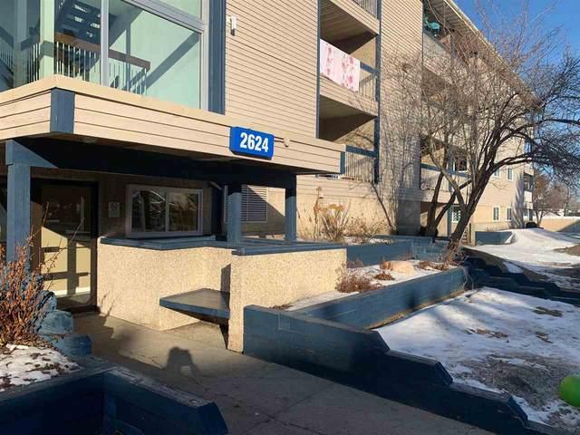 205 2624 Millwoods Road E, Edmonton, AB T6L 5K7 (#E4232361) :: Initia Real Estate