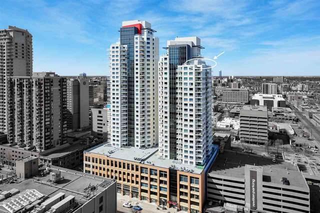 2502 10226 104 Street, Edmonton, AB T5J 1B8 (#E4232736) :: RE/MAX River City