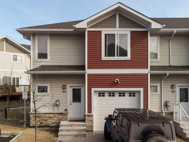 44 450 Mcconachie Way NW, Edmonton, AB T5Y 0S8 (#E4233027) :: The Good Real Estate Company