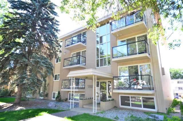 102 10633 81 Avenue, Edmonton, AB T6E 1Y1 (#E4233102) :: RE/MAX River City