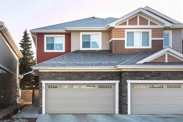 7 94 Longview Drive, Spruce Grove, AB T7X 0W3 (#E4233787) :: Initia Real Estate