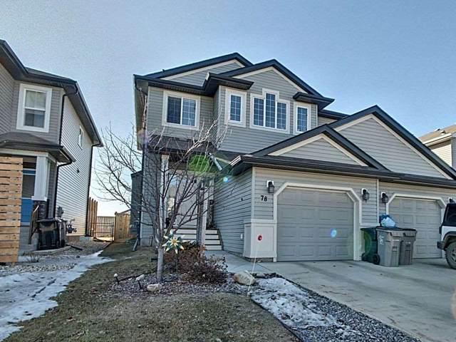 78 South Creek Wynd, Stony Plain, AB T7Z 0J8 (#E4234034) :: Initia Real Estate