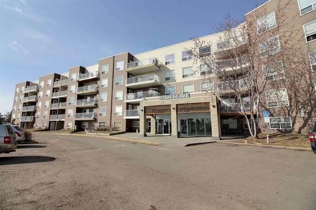 314 17404 64 Avenue NW, Edmonton, AB T5T 6X4 (#E4234385) :: Initia Real Estate