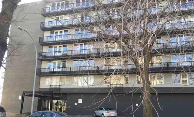 #402 8306 JASPER AVE NW, Edmonton, AB T5H 3S3 (#E4234390) :: Initia Real Estate
