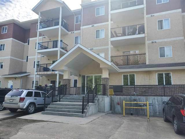 101 4903 47 Avenue, Stony Plain, AB T7Z 0L6 (#E4234615) :: Initia Real Estate