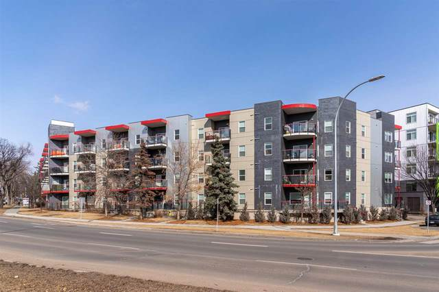 103 10611 117 Street, Edmonton, AB T5H 0G6 (#E4234715) :: RE/MAX River City