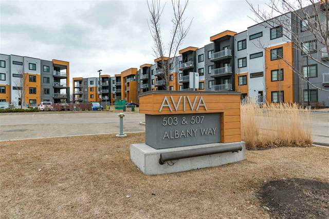 426 503 Albany Way, Edmonton, AB T6V 0M5 (#E4234894) :: Initia Real Estate