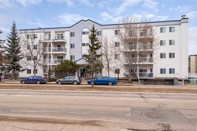 205 11446 40 Avenue, Edmonton, AB T6J 0R5 (#E4235001) :: The Foundry Real Estate Company