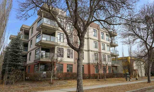 206 11120 68 Avenue, Edmonton, AB T6H 2C2 (#E4235073) :: Initia Real Estate