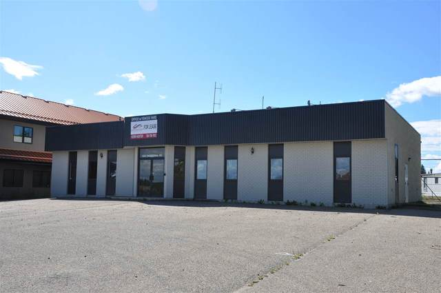 5207 Industrial Rd, Drayton Valley, AB T7A 1R5 (#E4235283) :: Initia Real Estate
