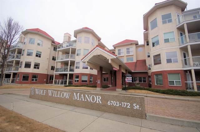 129 6703 172 Street, Edmonton, AB T5T 6H9 (#E4235360) :: Initia Real Estate