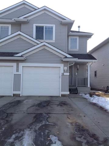 18, 13403 Cumberland Road, Edmonton, AB T6V 1P9 (#E4235361) :: Initia Real Estate