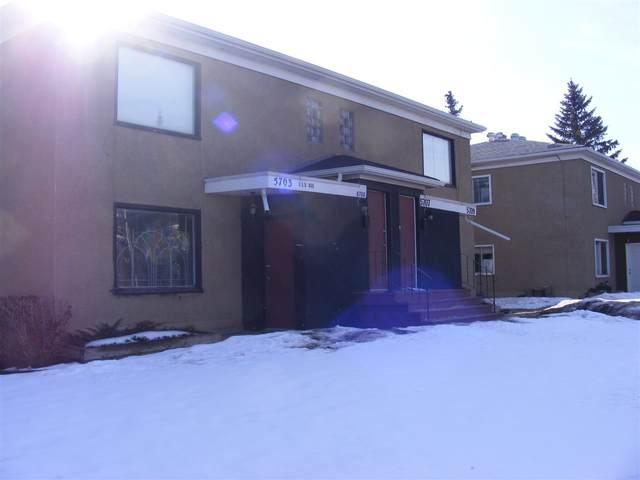 5703,5711,5719 118 AV NW NW, Edmonton, AB T5W 1E2 (#E4235466) :: Initia Real Estate
