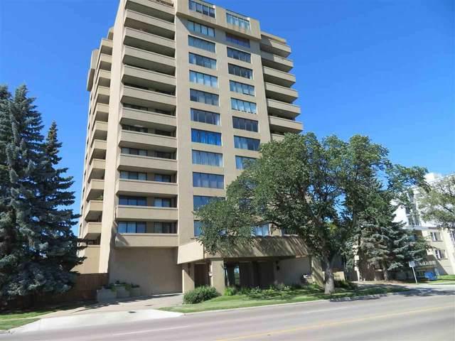 703 8340 Jasper Avenue, Edmonton, AB T5H 4C6 (#E4235591) :: Initia Real Estate