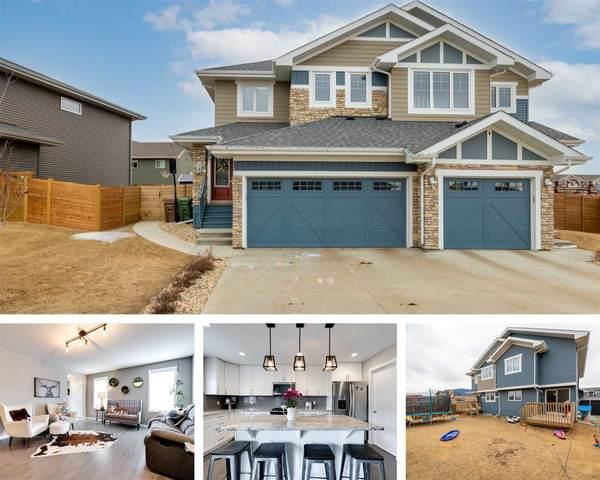 3 James Crescent, St. Albert, AB T8N 7S6 (#E4235596) :: Initia Real Estate