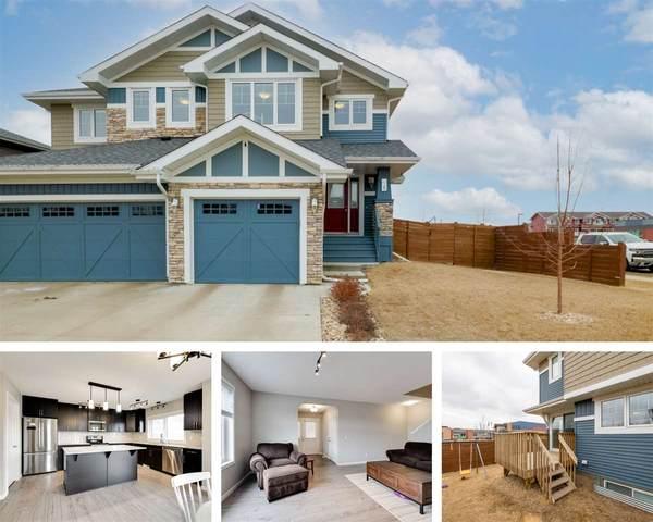 1 James Crescent, St. Albert, AB T8N 7S6 (#E4235619) :: Initia Real Estate