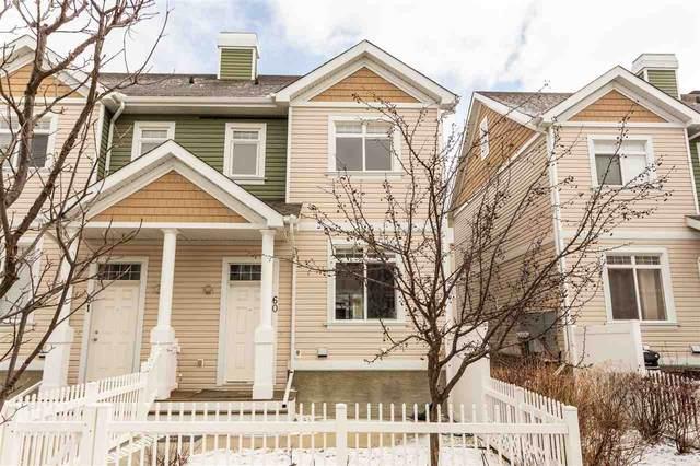 60 1804 70 Street, Edmonton, AB T6X 0H4 (#E4235637) :: The Foundry Real Estate Company