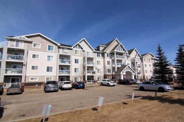 302 13830 150 Avenue, Edmonton, AB T6V 1X2 (#E4235991) :: Initia Real Estate