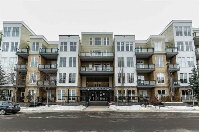 219 10531 117 Street, Edmonton, AB T5H 0A8 (#E4236146) :: Initia Real Estate