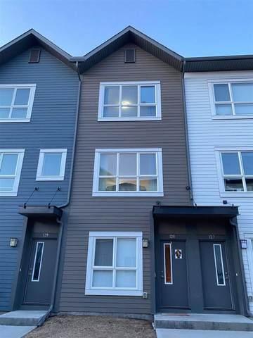 128 2560 Pegasus Boulevard, Edmonton, AB T5E 6V4 (#E4236175) :: Initia Real Estate