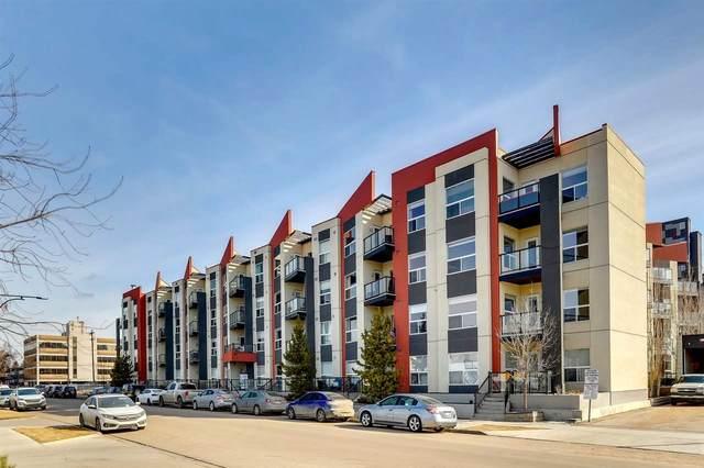 111 10523 123 Street, Edmonton, AB T5N 1N9 (#E4236326) :: Initia Real Estate
