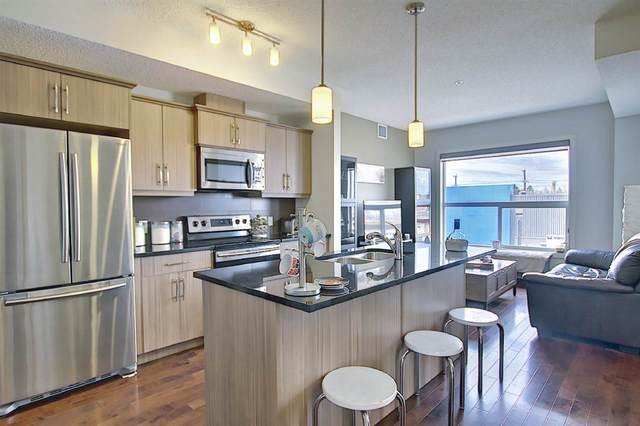 217 10523 123 Street, Edmonton, AB T5N 1N9 (#E4236395) :: Initia Real Estate