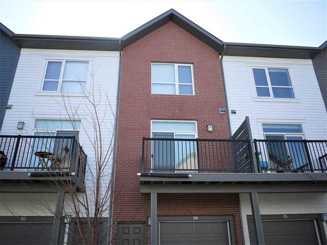 114 2560 Pegasus, Edmonton, AB T5E 6V4 (#E4236412) :: Initia Real Estate
