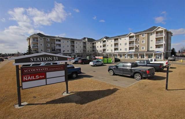 409 4310 33 Street, Stony Plain, AB T7Z 0A8 (#E4236452) :: Initia Real Estate