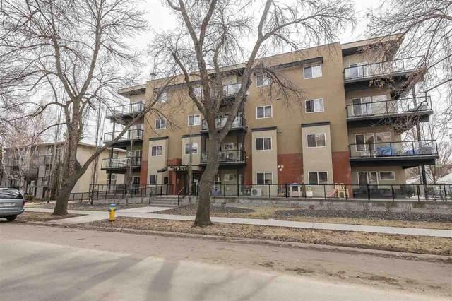 102 10525 80 Avenue, Edmonton, AB T6E 1V4 (#E4236507) :: Initia Real Estate