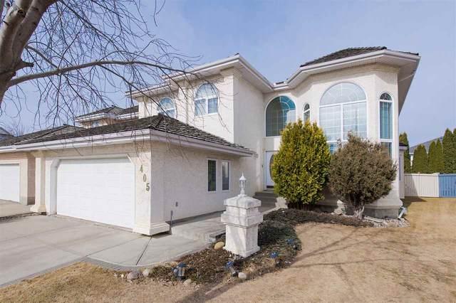 405 Twin Brooks Cr., Edmonton, AB T6J 6V2 (#E4236535) :: Initia Real Estate