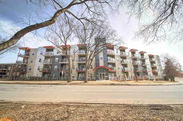 102 10611 117 Street, Edmonton, AB T5H 0G6 (#E4236621) :: Initia Real Estate