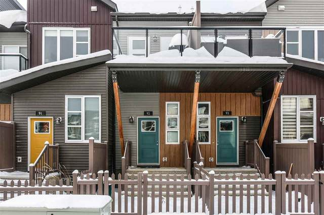 92 4470 Prowse Road, Edmonton, AB T6W 3R5 (#E4236638) :: Initia Real Estate